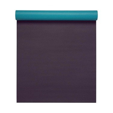 Mata do jogi dwustronna Gaiam Earth Sky 4 mm - fioletowo-niebieska