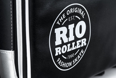 Torba Fashion Bag Black- White Rio Roller